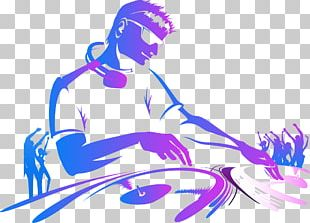Sticker Wall Decal Disc Jockey MacBook PNG