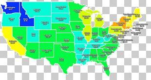 United States Globe World Map PNG
