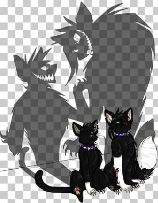 Black Cat Kitten The Rise Of Scourge Warriors PNG