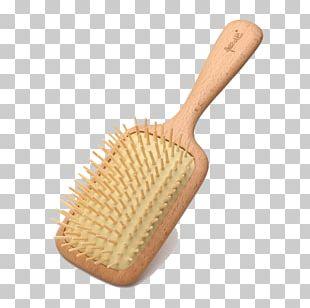 Comb Massage Sandalwood PNG