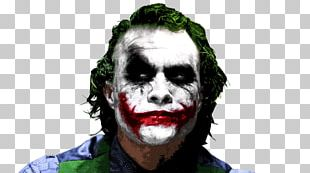 Heath Ledger Joker Batman The Dark Knight Film PNG