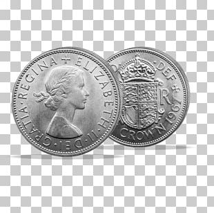 Silver Coin Collecting Crown Gold PNG