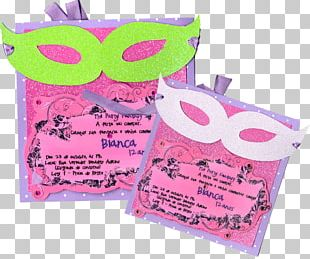 Convite Party Disguise Carnival Birthday PNG