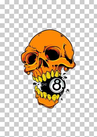 T-shirt Skull PNG
