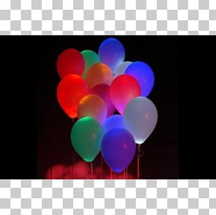 Balloon Light Balloon Light Party Glow Stick PNG