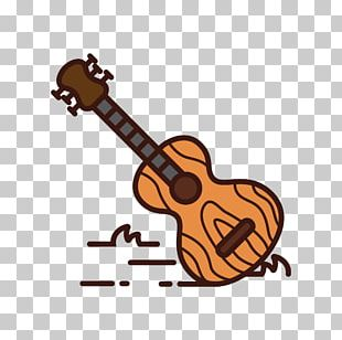 String Instrument Accessory Guitar Cartoon People PNG