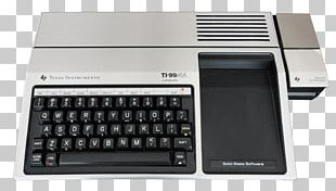 Texas Instruments TI-99/4A Numeric Keypads Personal Computer PNG