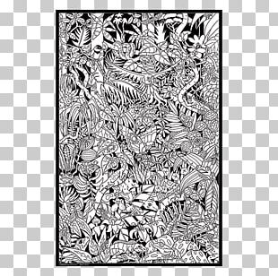 Artist Poster Watercolor Painting Black And White PNG