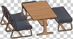 Bedside Tables Chair Matbord Dining Room PNG