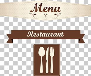Menu Cafe Restaurant PNG