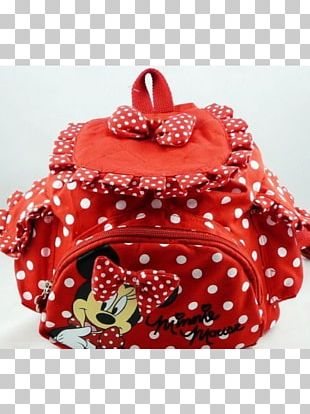 Backpack Minnie Mouse Bag Child Trolley PNG
