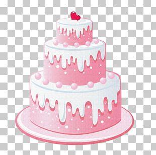 Birthday Cake Wedding Cake Cupcake Icing Layer Cake PNG