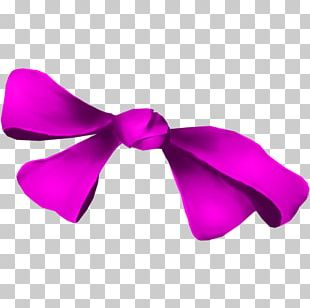 Bow Tie Pink M PNG