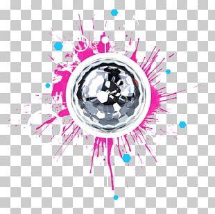 Graphic Design Dance Mobile Disc Jockey LED Stage Lighting Nightclub PNG