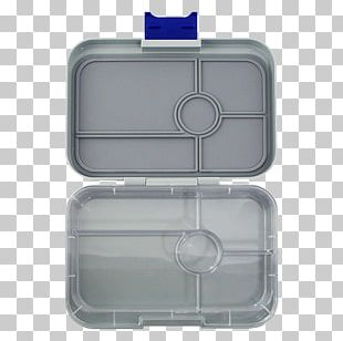 YUMBOX TAPAS Larger Size (Flat Iron Grey) 5 Compartment Leakproof Bento Lunch Box For Pre-teens PNG