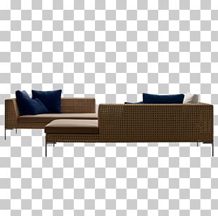 B&B Italia Couch Garden Furniture Chaise Longue PNG