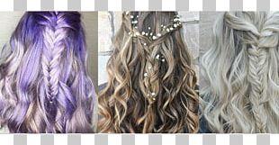 Long Hair Braid Hairstyle Hair Coloring PNG