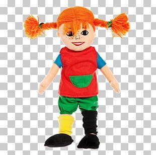 Pippi Longstocking Villa Villekulla Annika Mr. Nilsson Doll PNG