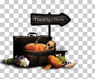 Halloween Haunted House Pumpkin PNG