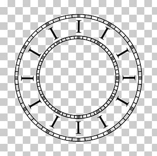 Clock Face Wall Decal Timer Number PNG