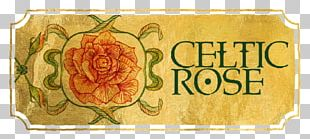 Rose Family Floral Design Font PNG