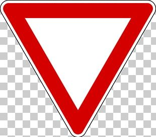 Yield Sign Traffic Sign Stop Sign Warning Sign PNG