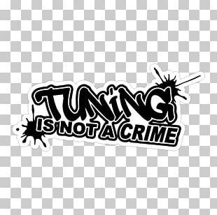Car Tuning Sticker Brott PNG
