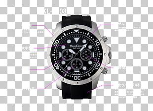 Diving Watch Clock Waterproofing Chronograph PNG