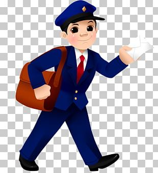 The Postman Mail Carrier PNG