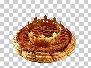 King Cake French Cuisine Galette France Epiphany PNG
