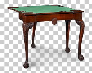 Drop-leaf Table 18th Century Game Marquetry PNG