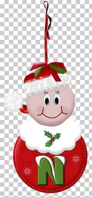 Santa Claus Christmas Ornament Letter Alphabet Mrs. Claus PNG