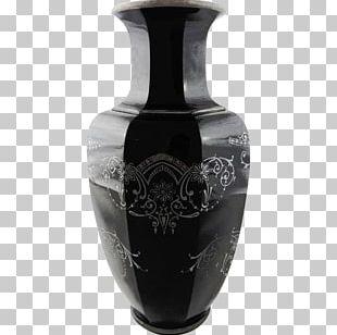 Vase Glass Art Ceramic Art Deco PNG