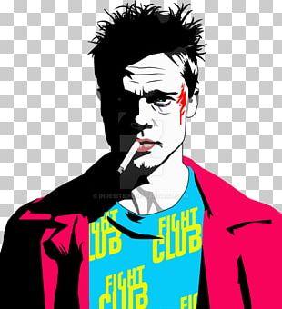 Brad Pitt Tyler Durden Fight Club 2 PNG