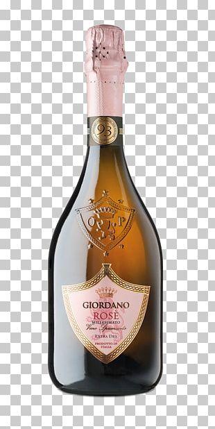 Champagne Rosé Sparkling Wine Zinfandel PNG