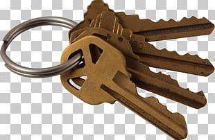 Four Copper Keys PNG