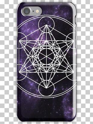 Metatron Sacred Geometry Cube Symbol Circle PNG