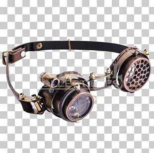 Steampunk Goggles Sunglasses Light PNG