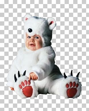Baby Polar Bears Halloween Costume PNG