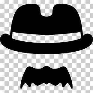 Handlebar Moustache Hat Sombrero Hair PNG