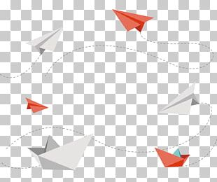 Paper Plane Airplane Aircraft PNG