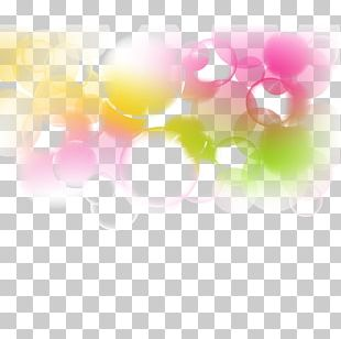 Dream Fancy Bubble Background PNG
