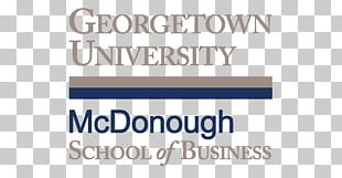 McDonough School Of Business Georgetown University School Of Foreign Service Business School Master Of Business Administration PNG