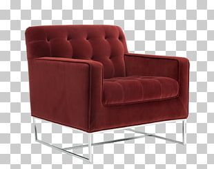 Club Chair Table Couch Living Room PNG