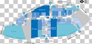 Lewisham Shopping Centre Service Map PNG
