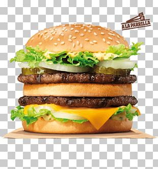 Hamburger Big King Whopper Fast Food McDonald's Big Mac PNG