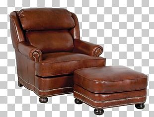 Eames Lounge Chair Foot Rests Recliner Leather PNG