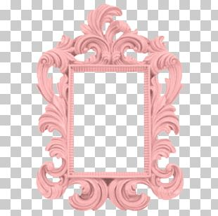 Frames Baroque Paint Mirror Wall PNG