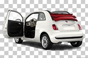 2013 FIAT 500 Lounge Car Abarth Fiat 500 Convertible PNG