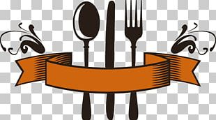 Knife Fork Logo Spoon Restaurant PNG